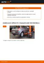 Navodila po korakih za popravilo Renault Scenic 1