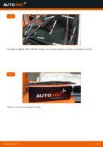 Como substituir as escovas do limpa para-brisa traseiros em BMW E46 Touring