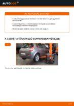 Renault Scenic 2 hátsó felfüggesztő rugó csere