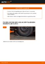Wie ersetze ich eine vordere Koppelstange am Renault Scenic 2