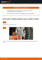 PDF manuel de remplacement: Triangle de suspension MERCEDES-BENZ arrière et avant