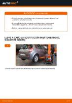 Cambio Muelle de chasis delanteras izquierda derecha RENAULT bricolaje - manual pdf en línea