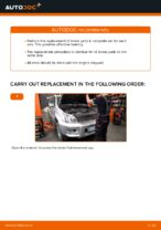Step by step PDF-tutorial on Brake Pads TOYOTA LAND CRUISER (KDJ12_, GRJ12_) replacement