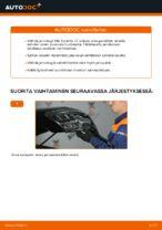 Automekaanikon suositukset KIA KIA Sorento jc 2.4 -auton Jarrupalat-osien vaihdosta