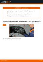 Vaihda KIA Takajarrupalat ja etujarrupalat itse - käsikirja verkossa