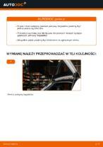 W jaki sposób wymienić sprężyny gazowe pokrywy bagażnika w Audi A3 8P1