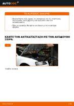 Πώς αντικαθιστούμε φίλτρο αέρα κινητήρα σε Audi A3 8P1