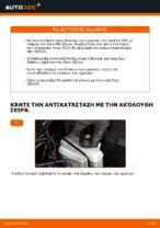 Πώς αντικαθιστούμε οπίσθιους δίσκους φρένων σε Audi A3 8P1