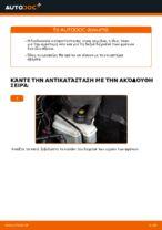 Πώς αντικαθιστούμε πισινή δαγκάνα των φρένων σε Audi A3 8P1