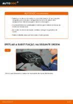 Mudar Tambor de Travão traseiro e dianteiro KIA SORENTO I (JC): guia pdf
