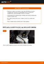 Como substituir os discos de travão traseiros no Audi A3 8P1