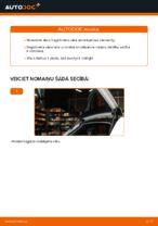 Kā nomainīt Audi A3 8P1 bagāžnieka vāka amortizatorus