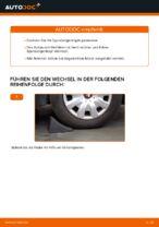 Wie Bremshalter hinten links rechts beim KIA SORENTO I (JC) wechseln - Handbuch online
