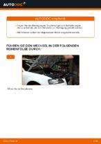 Luftfilter wechseln AUDI A3: Werkstatthandbuch