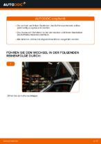 Wie der Austausch von Gasfedern des Kofferraumdeckels bei Audi A3 8P1-Autos funktioniert