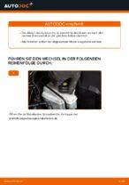 Ratschläge des Automechanikers zum Austausch von AUDI Audi A3 8p1 1.9 TDI Bremsbeläge