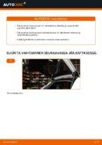 Kuinka vaihdat takaluukun kaasujouset Audi A3 8P1-autoon