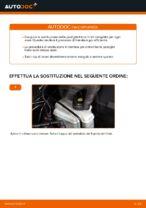 Come sostituire le pastiglie dei freni a disco posteriori Audi A3 8P1
