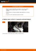 Ako vymeniť a regulovať Brzdové doštičky AUDI A3: sprievodca pdf