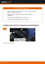 Ako vymeniť lištu predného stierača na aute BMW E39 bensin