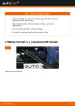 Jak vyměnit lištu předního stěrače na autě BMW E39 benzín