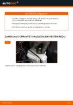 Zamenjavo Zavorne Ploščice AUDI A3: brezplačen pdf
