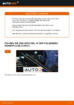 Wie Sie die vorderen Wischerblätter am BMW E39 benzin ersetzen