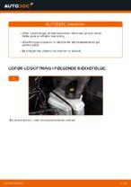 Udskiftning af Bremseklods bag og foran AUDI gør det selv - online manualer pdf