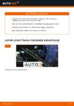 Hvordan man udskifter viskerblade i for på BMW E39 benzin