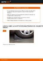 Cómo cambiar la cazoleta del amortizador delantero en BMW E39 gasolina