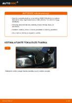 Kaip pakeisti BMW E39 benzinas galinius stabdžių diskus