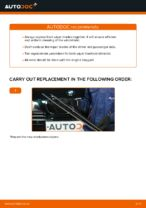 How to replace the front wiper blades on BMW E39 petrol