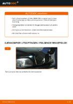 Slik kan du bytte bremseskiver bak på BMW E39 bensin