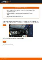 Skifte Bremsekloss BMW 5 SERIES: gratis pdf