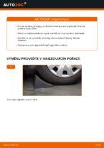Jak vyměnit uložení přední vzpěry zavěšení kol na BMW E39 benzín