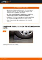 Πώς αντικαθιστούμε μπροστινή βάση γονάτου ανάρτησης σε BMW E39 βενζίνη