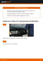 Kako zamenjati zadnje zavorne ploščice za kolutne zavore na BMW E39 bensin