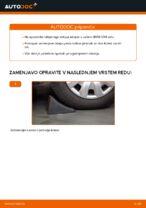 Kako zamenjati prednjo pesto na BMW E39 bensin