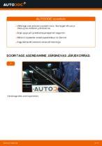 Kuidas vahetada esimesi klaasipuhasteid autol BMW E39 bensiin
