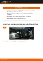 Kuidas vahetada oma BMW E39 bensiin auto tagumisi piduriketaid