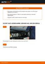 Asendamine Piduriklotsid BMW 5 SERIES: käsiraamatute