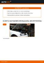 Kuinka vaihtaa moottoriöljyt ja öljynsuodatin Audi A3 8P1 malliin