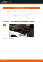 Cseréljünk Olajszűrő AUDI A3: felhasználói kézikönyv