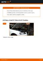 Kaip pakeisti alyvą ir alyvos filtrą Audi A3 8P1