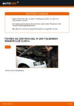 Wie ersetze ich ein vorderes Federbein beim Audi A3 8P1