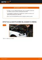 AUDI A3 Ammortizzatori sostituzione: tutorial PDF passo-passo