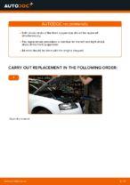 Changing Shock Absorber AUDI A3: workshop manual