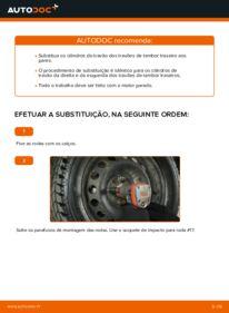Como realizar a substituição de Cilindro do Travão da Roda no 1.2 60 Fiat Punto 188