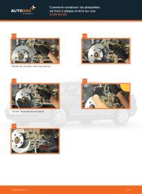 Comment effectuer un remplacement de Plaquettes de Frein sur 1.6 Audi A4 B5 Berline