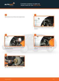 Comment effectuer un remplacement de Roulement De Roues sur 1.6 Audi A4 B5 Berline
